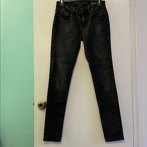 [mavi] dark gray skinny jeans size 28